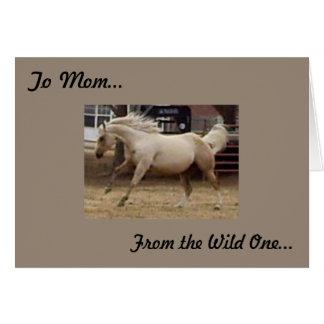 Cartão Mãe - da selvagem