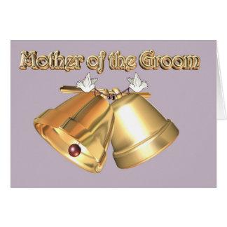 Cartão Mãe do noivo. a mãe da mãe. Mamã do noivo