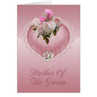 Cartão Mãe dos parabéns do noivo - mãe do Th