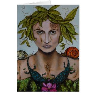 Cartão Mãe Natureza aka Lavina