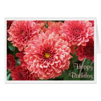 Cartão Mãe no rosa