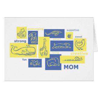 Cartão Mães!