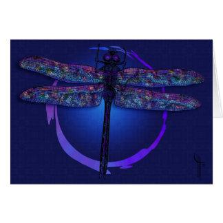 Cartão Mágica da libélula