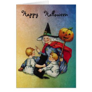 Cartão Mágica do Dia das Bruxas