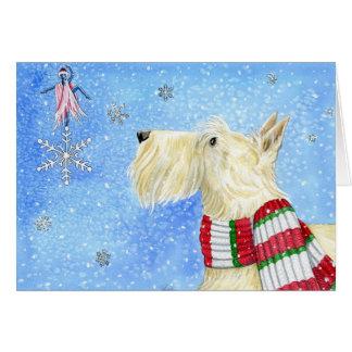 Cartão Mágica do Natal do Scottie