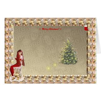 Cartão Mágica do Natal. Modelo #2