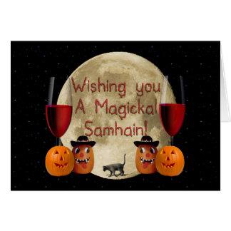Cartão Magickal Samhain