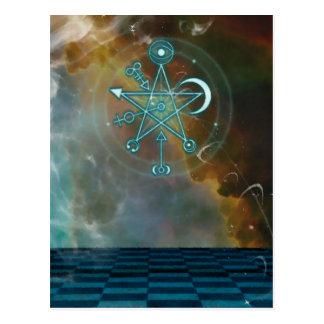 Cartão mágico da fantasia