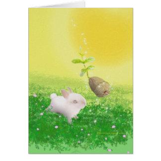 Cartão mágico de Ostara
