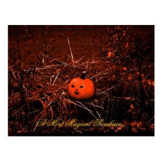 Cartão mágico de Samhain