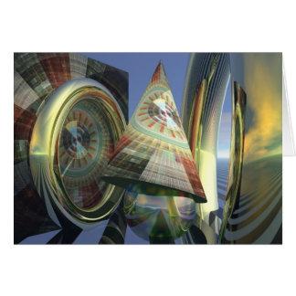 Cartão mágico surrealista