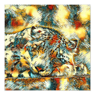 Cartão Magnético AnimalArt_Leopard_20170605_by_JAMColors