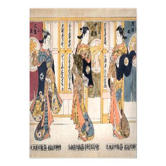 Cartão Magnético Belezas do triptych de três capitais