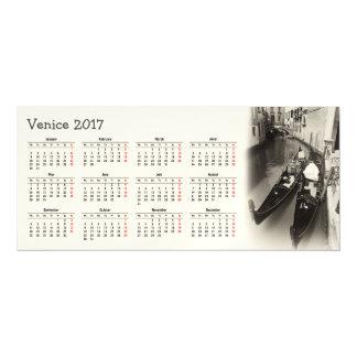 Cartão Magnético Calendário de Veneza, Italia 2017