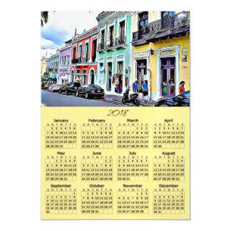 Cartão magnético de Puerto Rico de 2018