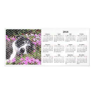 Cartão magnético do calendário feito sob encomenda