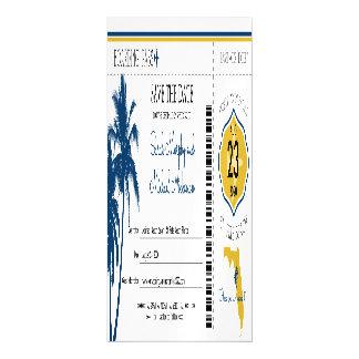 Cartão Magnético Economias de Florida a passagem de embarque da