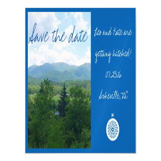 Cartão Magnético Imã salve a data de Asheville North Carolina