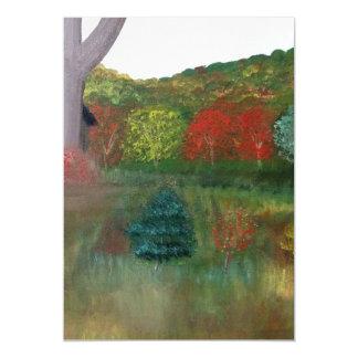 Cartão Magnético Ímã vibrante do outono