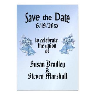 Cartão Magnético O casamento Bels salvar a data