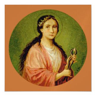 Cartão Magnético Quadrado do St. Apollonia (BLA 001)