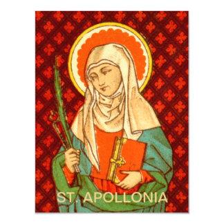 """Cartão Magnético St. Apollonia (VVP 001) 4,25"""" x5.6 """""""