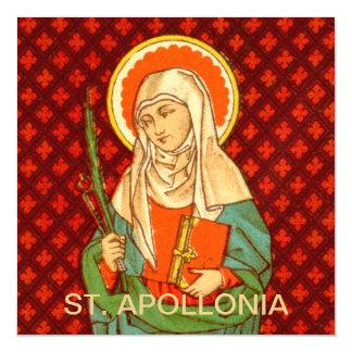 """Cartão Magnético St. Apollonia (VVP 001) 5,25"""""""" quadrado x5.25"""