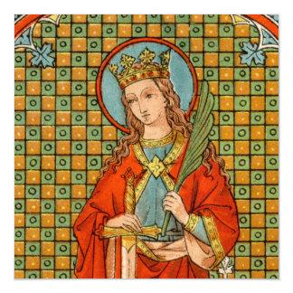 """Cartão Magnético St. Barbara (JP 01) 5,25"""""""" quadrado x5.25"""
