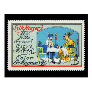 Cartão Magnin San Francisco do selo do poster