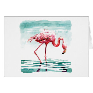 Cartão Maior flamingo