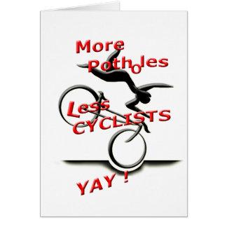 Cartão mais caldeirões menos ciclistas (yay)