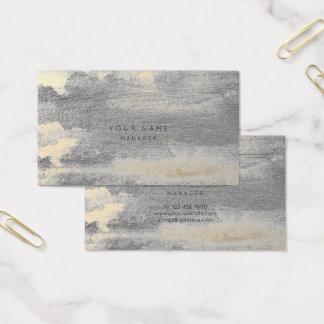 Cartão mais foxier sujo de prata da nomeação do
