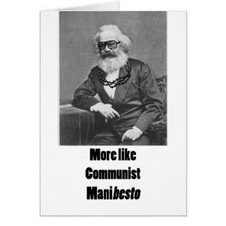 Cartão Mais gostam de ManiBESTO!