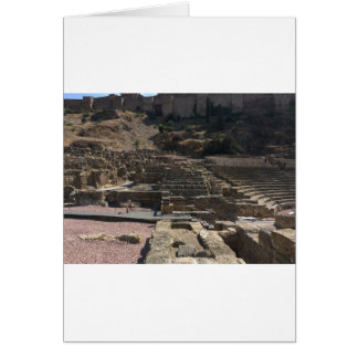 Cartão Malaga; anfiteatro