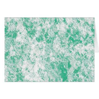 Cartão Malha de mármore verde