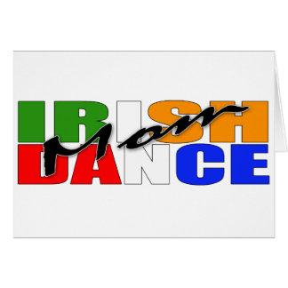 Cartão Mamã da dança