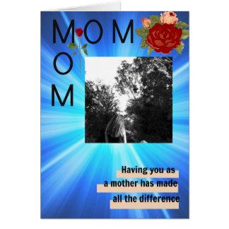 Cartão Mamã da mamã