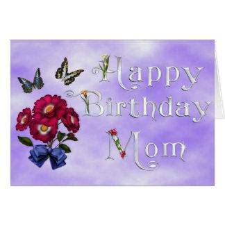 Cartão Mamã do feliz aniversario