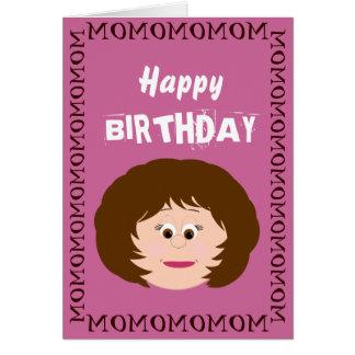 Cartão Mamã do feliz aniversario (filha)