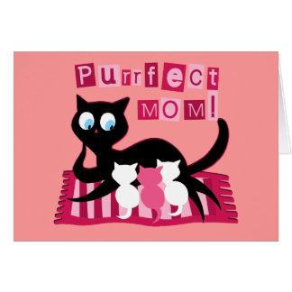 Cartão Mamã perfeita