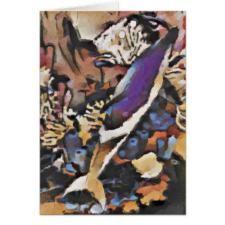 Cartão manchado Pantropical do golfinho