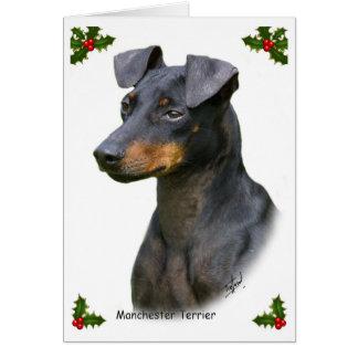 Cartão Manchester Terrier 8W13D-07