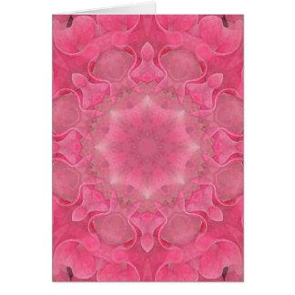 Cartão Mandala da flor
