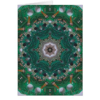 Cartão Mandala de Circuitboard