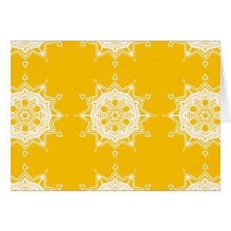 Cartão Mandala do mel