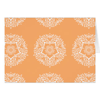 Cartão Mandala do melão