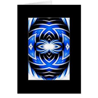 Cartão Mandala do pára-choque do carro do cromo