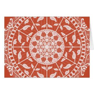 Cartão Mandala do Terracotta