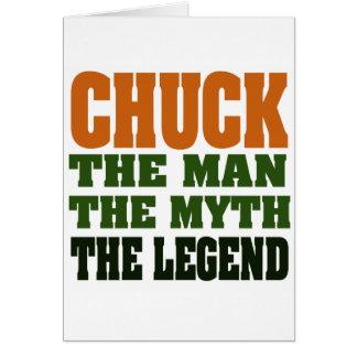 Cartão Mandril - homem, o mito, a legenda