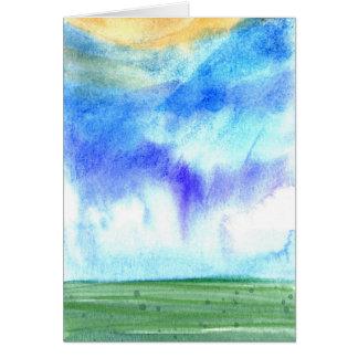 Cartão Manhã 2 de Palouse